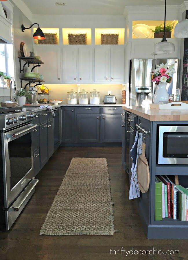 ❤️Is it possible to cut my cabinet door down, exposing the open shelf at the top?❤️ DIY toned kitchen renovation