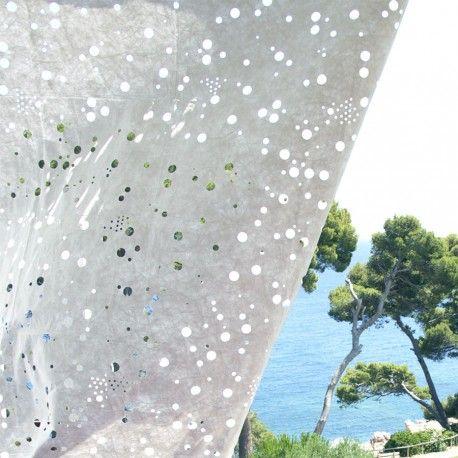 Le rideau Oo au bord de la mer c'est magique !