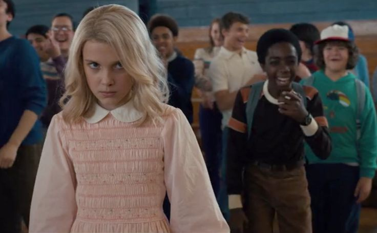 Stranger Things (2016-) dir. The Duffer Brothers - Millie Bobby Brown as Eleven