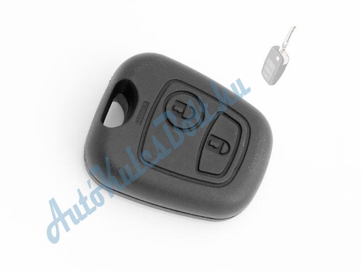 Citroen két (2) gombos kulcsház kulcsszár nélkül (VA2, HU83, NE78, 307, 407, 406 szárakhoz). Elem, elektronika és immobiliser chip nélkül. Logót, márkajelzést nem tartalmaz.  http://autokulcsbolt.hu/citroen-kulcshazak/citroen-ketgombos-kulcshaz-kulcsszar-nelkul-VA2-HU83-NE78-307-407-406