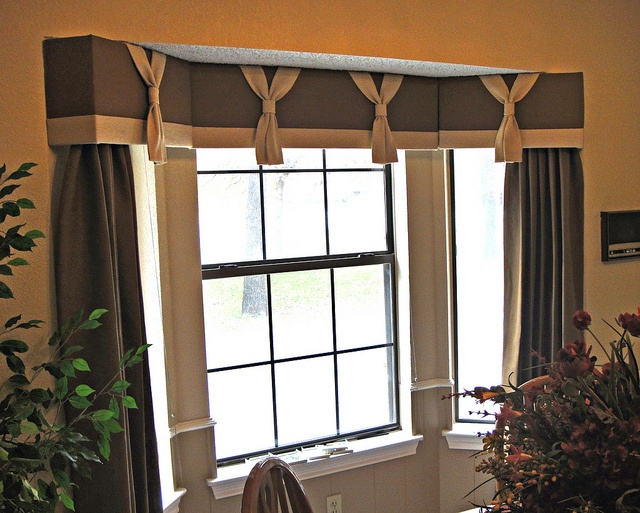 Cornice Board With Drapery Panels Furnished And Installed