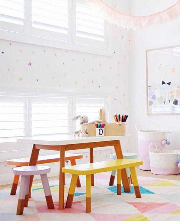 6 Mesas y sillas infantiles para el cuarto de juegos - HouseDécor España