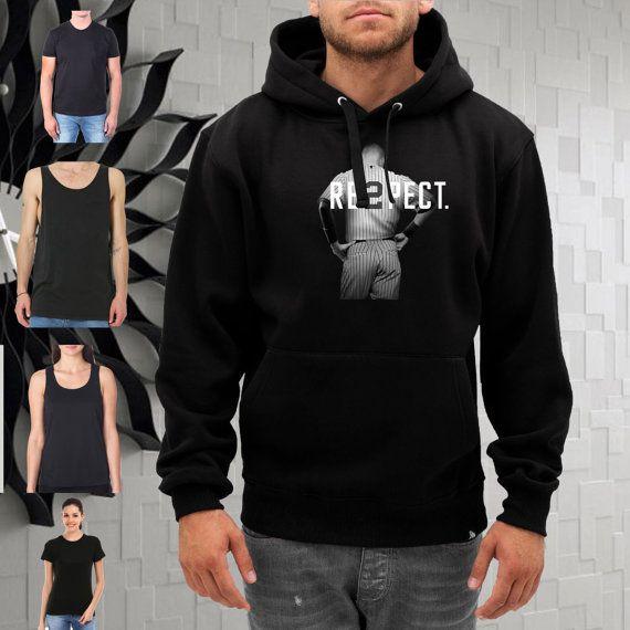 respect derek jeter  hoodie  size SMLXL2XL3XL by gajeshop on Etsy