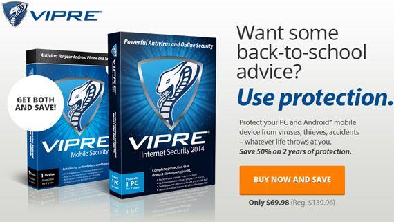 Save 50% On VIPRE