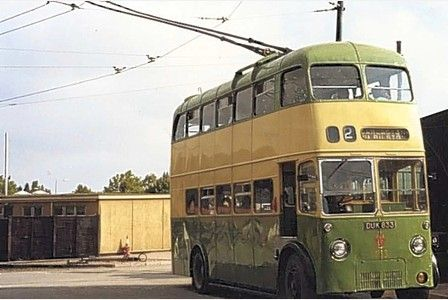Wolverhampton Trolley Bus Bus Coach Public Transport
