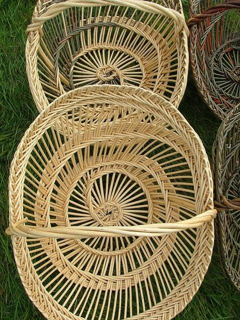 Perigourdin willow basket in white willow by norfolkbaskets.co.uk, via Flickr