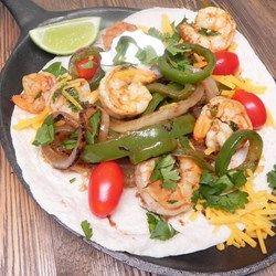 Chili-Lime Shrimp Fajitas   #AllrecipesFaceless #MyAllrecipes #AllrecipesAllstars