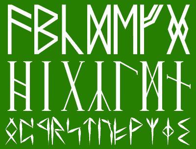 【レビュー】古代のルーン文字を再現するフォント群「RuneAssignMN Series Fonts」 - 窓の杜