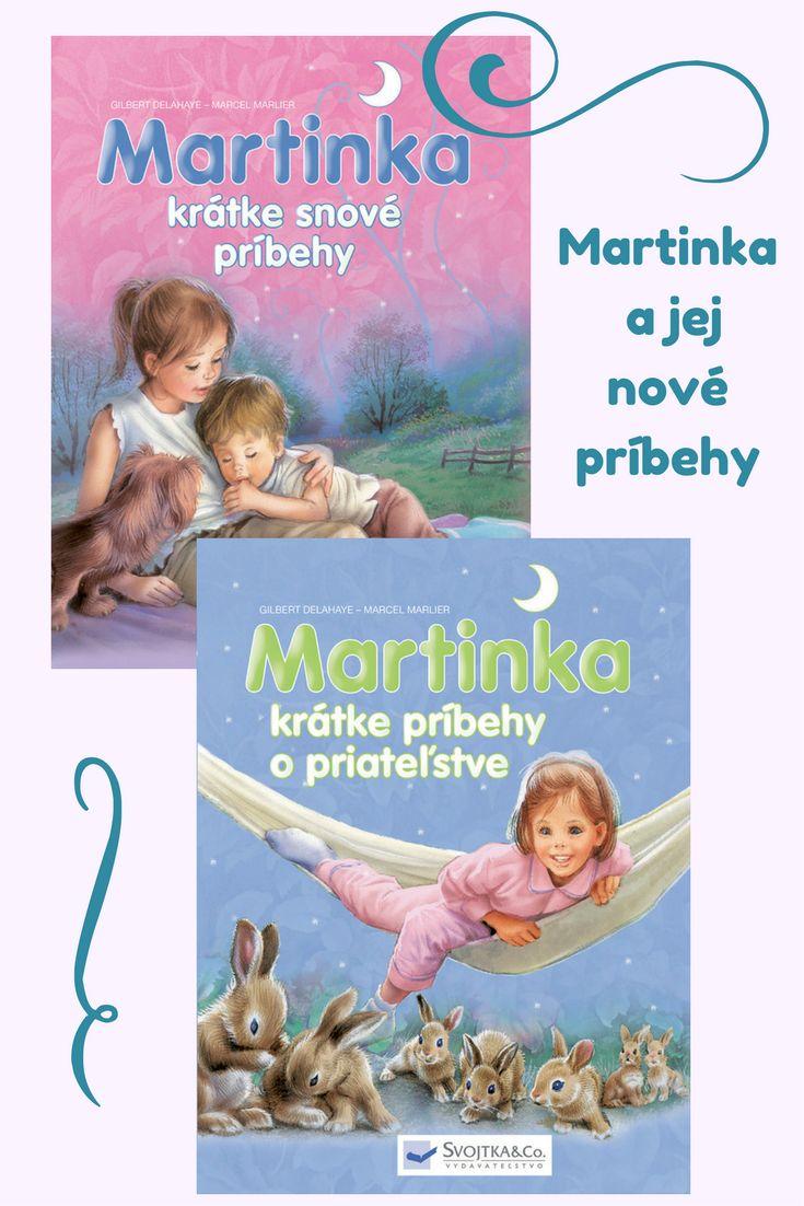 Šesť krátkych príbehov so šikovnou Martinkou a jej kamarátmi. Započúvaj sa alebo sa začítaj, nové dobrodružstvá už čakajú! #kniha #rozpravka #martinka #prvecitanie #deti
