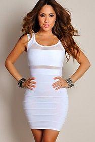 Best 25  All white club dresses ideas on Pinterest | Women's ...