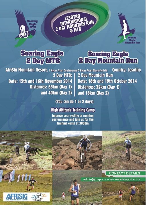THE ultimate fitness training! Join us in the Maluti Mountains this year for two high altitude events at Afriski. Contact admin@trisport.co.za to book your spot.  #mountainAdventure