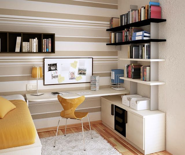 Decoração: 10 Ideias para Quartos Pequenos - Cores da Casa