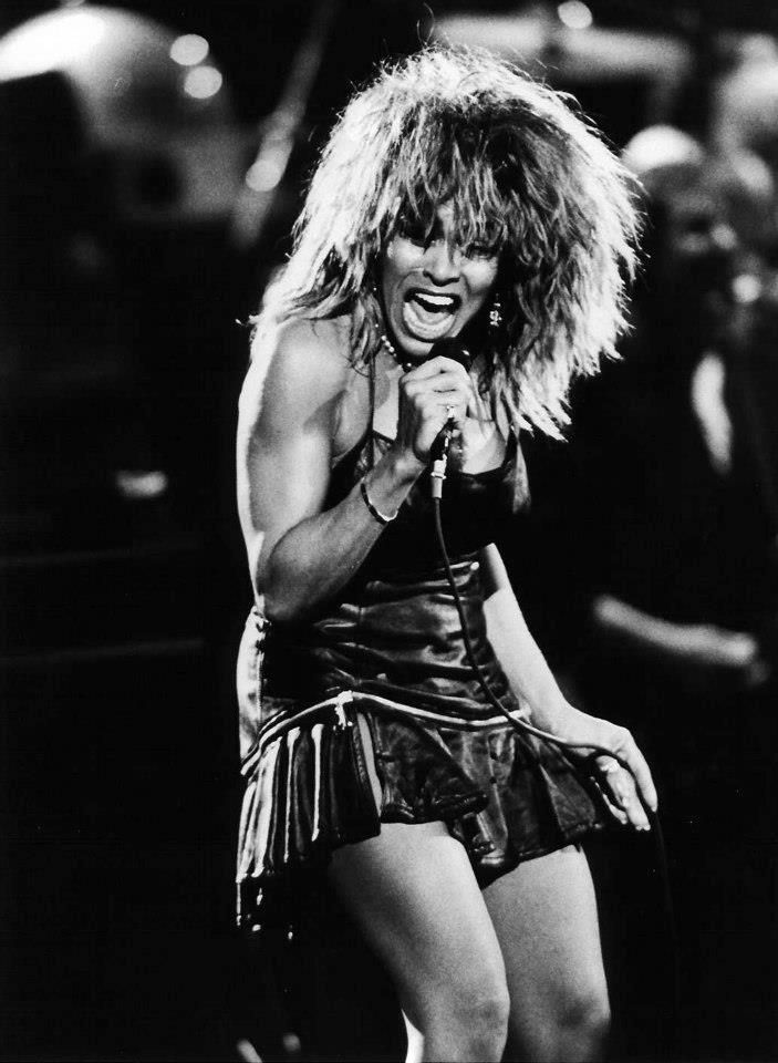 Tina Turner, my idol when I was in 3rd grade
