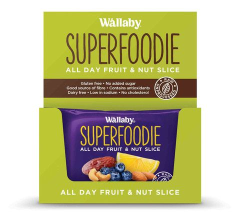 Wallaby - Gluten Free - All Day Fruit and Nut Slices - Blueberry Lemon