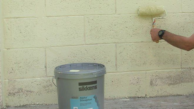 Peindre Un Mur Exterieur En 11 Etapes Peindre Mur Peinture Crepi Exterieur Crepis Exterieur