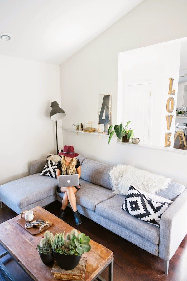 Apartamento boémio na California
