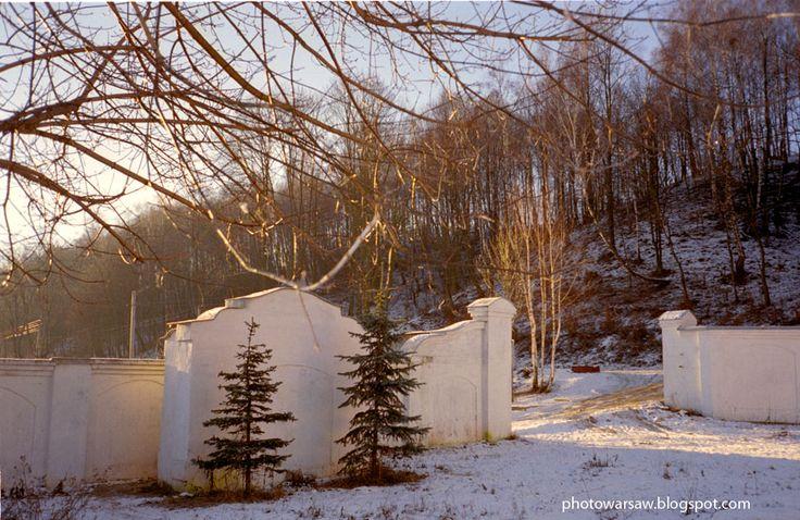 Winter in Mozyr, Belarus.