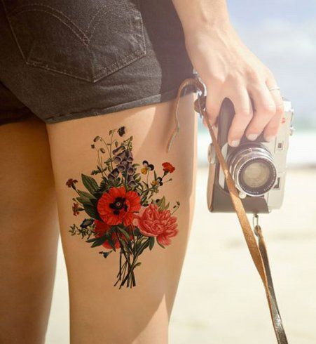 Tatouage old school : l'inspiration bucolique