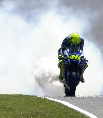 Desastre y decepción para Rossi