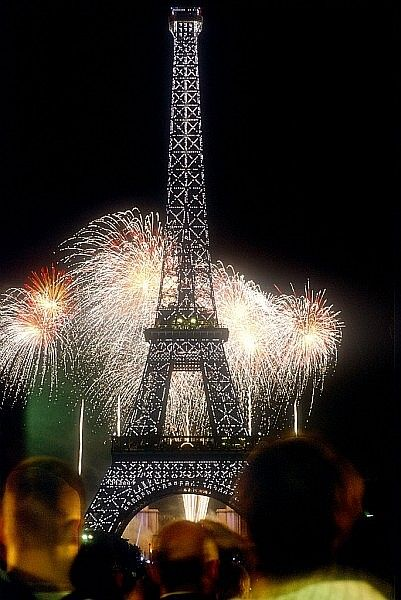 I haven't been to a lot of places, but Bastille Day at the Eiffel Tower has been the best thus far. Beautiful sight, and even better in person!