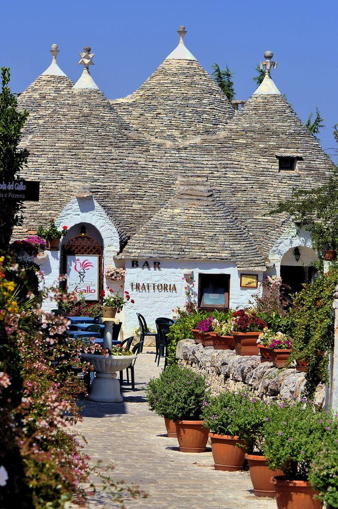The Trulli of Alberobello Bari Puglia Italy