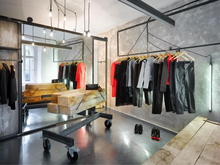 shop interior Prague fashion