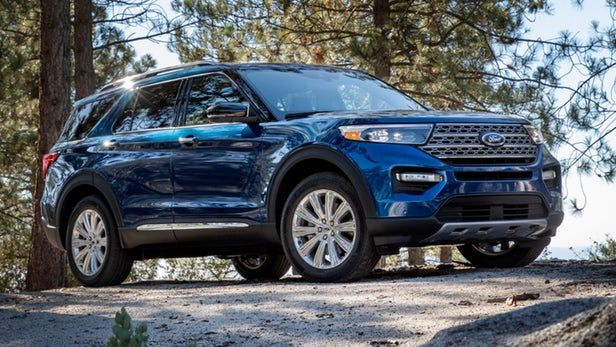Ford Unveils All New 2020 Explorer Suv In Detroit Ford Explorer 2020 Ford Explorer Ford Suv