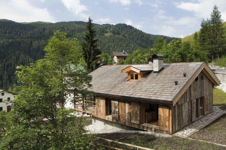 EXiT architetti associati · Renovation of an alpine barn