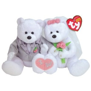 Ty We Do - Bride and Groom (Set) $13.99:  Teddy Bears, Beanie Baby, Ty Beanie, Beanie Bears, Beanie Babies, Grooms Gifts, Brides, Grooms Sets, Baby Bears