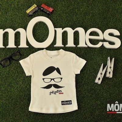 Momes design100% Certified Organic cotton boys kids T-Shirt nerd | Momes Store - 100% Organic Cotton clothing for boys