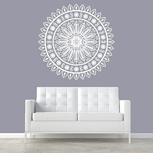 Wall Decal Vinyl Sticker Decals Art Decor Design Mandala Ornament Ganesh Indidan Geometric Moroccan Pattern Style Yoga Modern Bedroom (r295) CreativeWallDecals http://www.amazon.com/dp/B00MB2K1O0/ref=cm_sw_r_pi_dp_uBKZub1PD7MZN