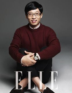 Yoo Jae Suk ♡ #RunningMan // Elle Magazine December Issue '13
