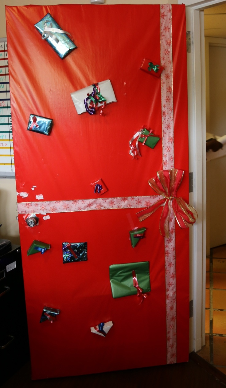 16 best Holiday Door Decoration Contest 2012 images on ...