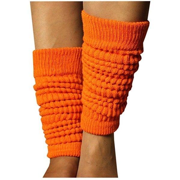 Weri Spezials Ladies Leg Warmers Knee Socks Size: 55 cm Length Orange:... ($6.03) ❤ liked on Polyvore featuring intimates, hosiery, socks, orange knee high socks, orange leg warmers, knee socks, knee-high socks and leg warmer socks