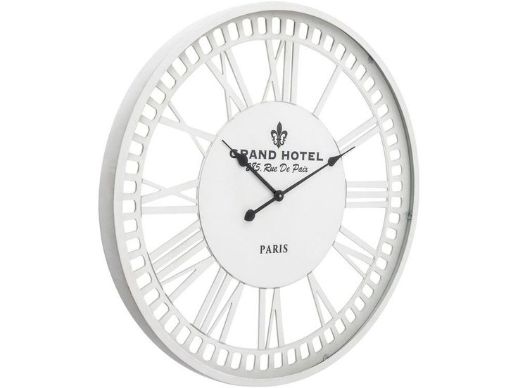 The white skeleton wall clock is part of our range of elegant timepieces, ideal for adding style to your wall. If you like the look of this see through white wall clock, you might also want to take a look at these other items, similar in style to the white metal skeleton wall clock you see here...