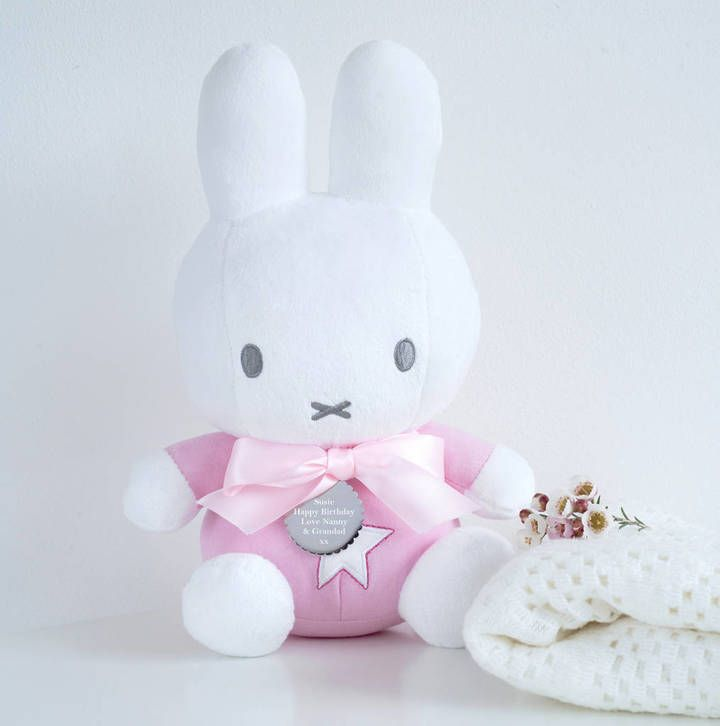 30 best personalised easter gifts images on pinterest easter personalised miffy oh so sweet christening newborn or baby shower gift negle Choice Image