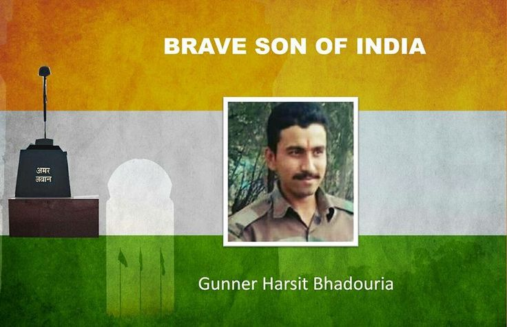 Indian Army today paid befitting tributes to its valiant soldier General Harsit Bhadouria who had attained martyrdom, on November 11th 2016 in Keran Sector, of Kupwara, North Kashmir. Homage was paid to the valour and sacrifice of the late soldier in a solemn ceremony held at Badami Bagh Cantonment.