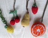 collane con frutta e verdura : Collane di giovanna-cargnelli