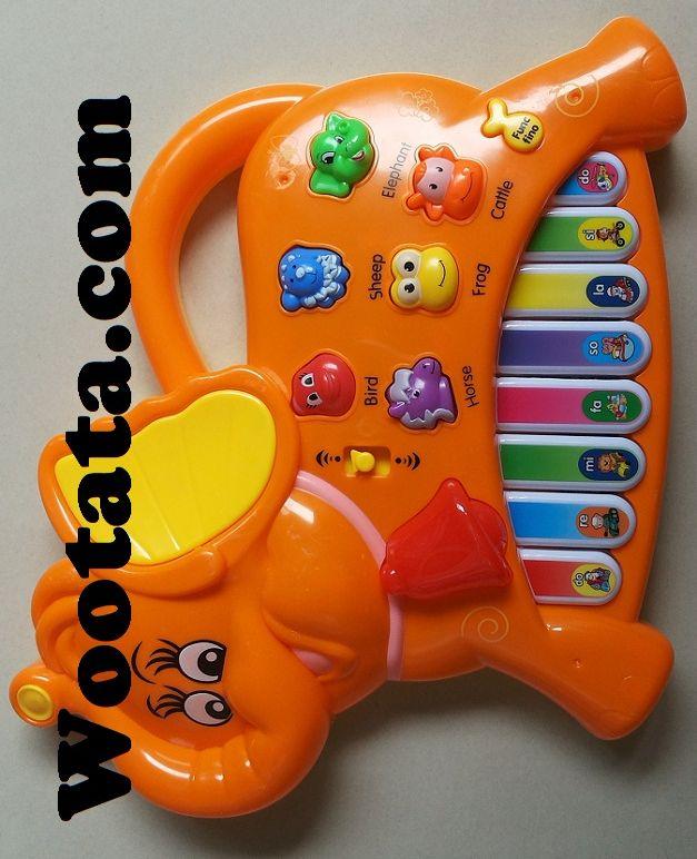 Jual Mainan Musik Piano Murah Bentuk Gajah Buat Bayi