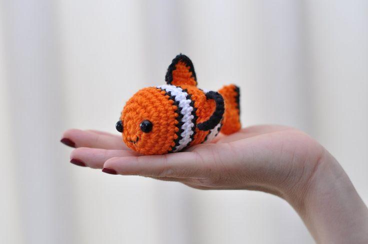 Amigurumi   Nemo en Crochet, Tsum Tsum