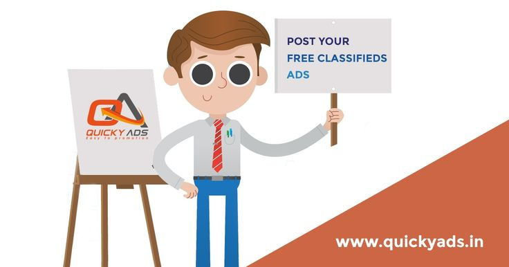 Post Unlimited Ads @ Quickyads.in A fast growing Classifieds to takes your business to next level. Click here -  https://goo.gl/CYsUzS #Postads #Freeclassifieds
