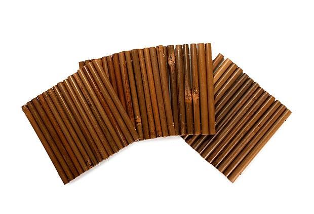 S/4 Bamboo Stalk Coasters on OneKingsLane.com
