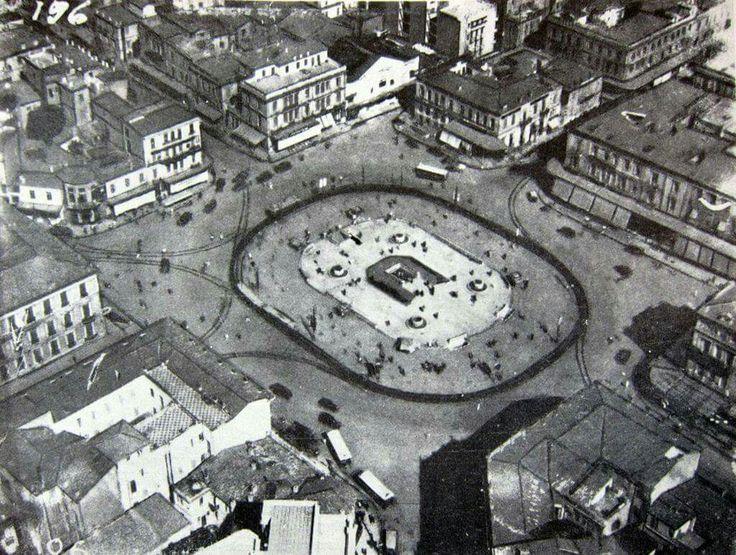 ΠΛΑΤΕΙΑ  ΟΜΟΝΟΙΑΣ  Η Παλαιά όψη της πλατείας, εν έτει 1932 !