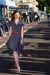 Haine Damă TopBMf - Topbmf Flared Midi Dress: Elizabeth - Casual like always