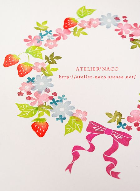 stamps combinations by Atelier*Naco 田口奈津子