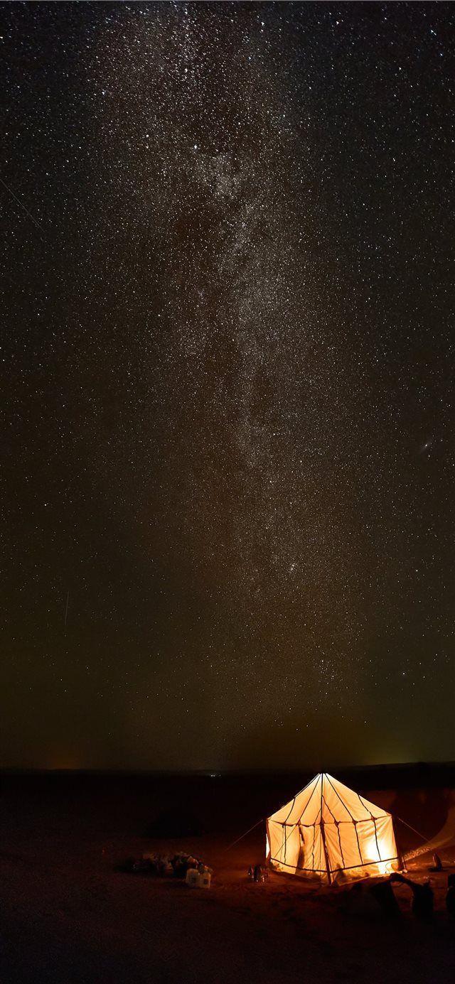 under the milkyway iPhone X wallpaper dark darkness