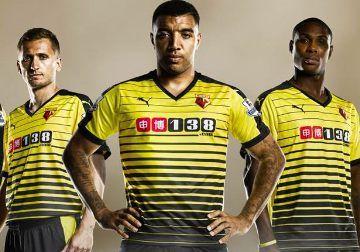 Watford FC 2015/16 PUMA Home Kit