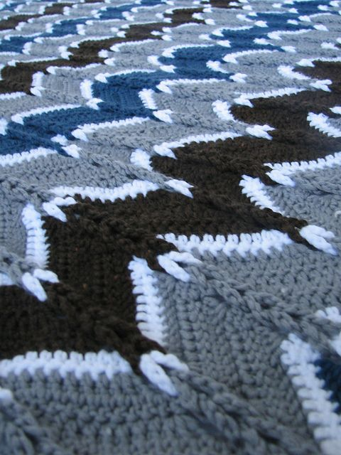 Ravelry: Jacob's Ladder Ripple Afghan pattern by Heather Tucker  Found this guy!!! Been trying to fix an afghan for almost a year that has this pattern!