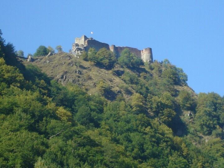 Dracula's Real Castle at Poienari- Arefu