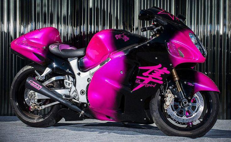 Brocks Exhaust, Custom Paint, New Image Seat , Gen-I Suzuki Hayabusa GSX1300R, blue / black,  http://www.PashnitBusa.com #hayabusa #pashnit